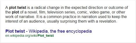 Plot Twist Definition