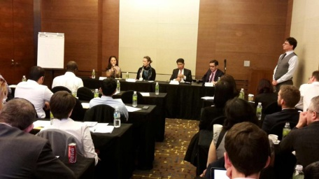 Foreign Marketing Expert panel to Executive MBA traveling class of Imperial College of London, June 2015, Seoul South Korea